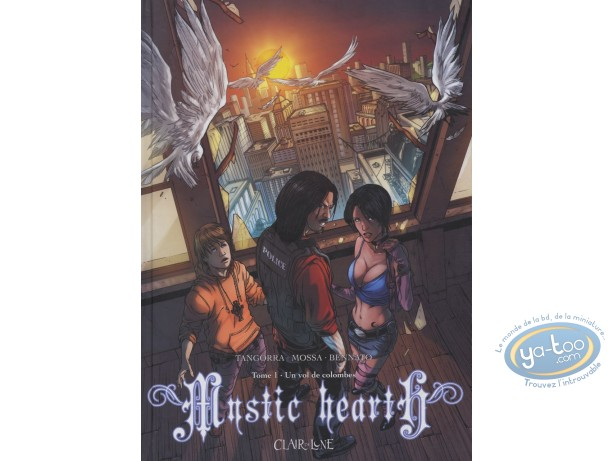 BD occasion, Mystic Heart : Un vol de colombes