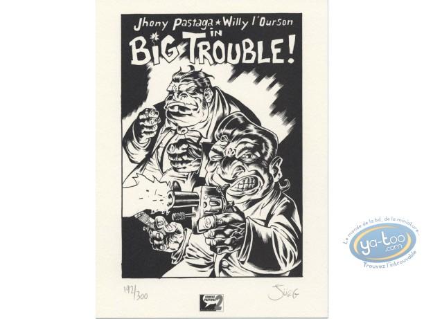 Ex-libris Offset, Big trouble
