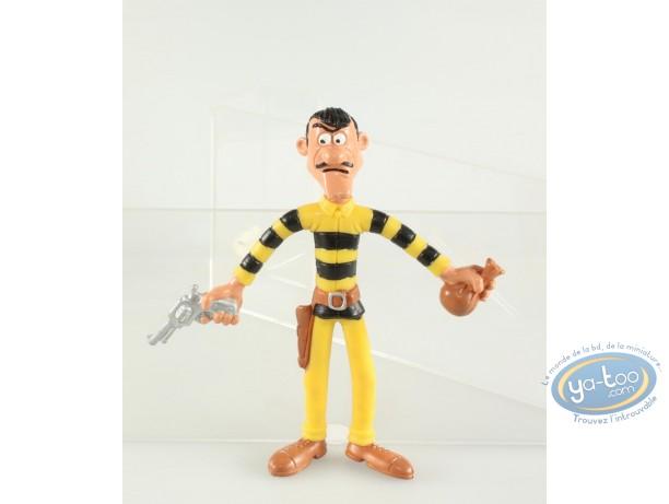 Figurine plastique, Lucky Luke : Avrell Dalton (grand format flexible)