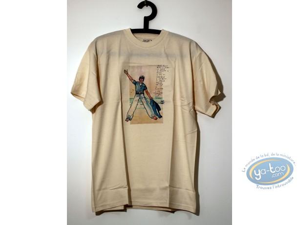 Vêtement, Corto Maltese : T-shirt, Plage taille S