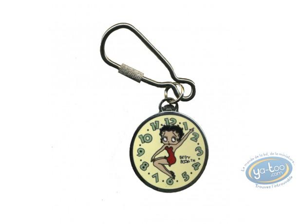 Porte-clé métal, Betty Boop : Porte-clé Betty Boop Montre