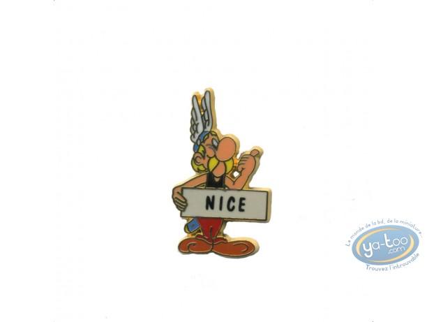 Pin's, Astérix : Astérix auto stoppeur 'Nice'