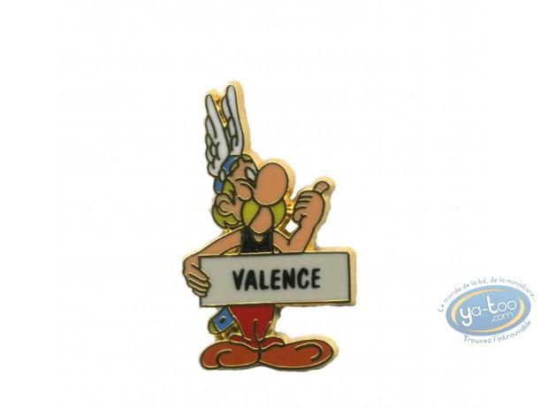 Pin's, Astérix : Astérix auto stoppeur 'Valence'