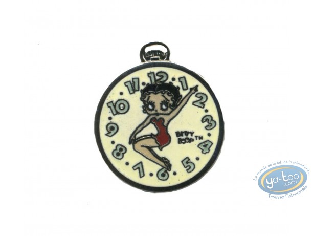 Pin's, Betty Boop : Pin's Betty Boop Montre