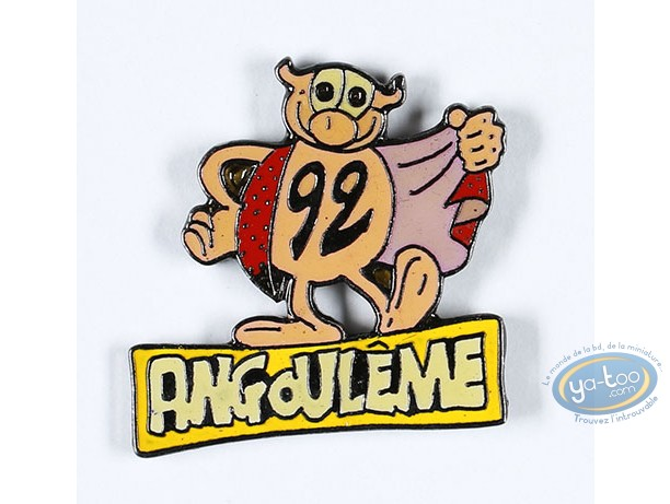 Pin's, Rubrique à Brac : Gotlib, La Coccinelle Angoulème 92