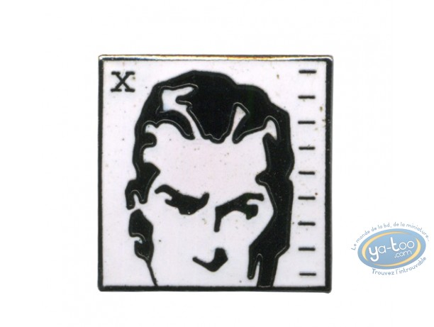 Pin's, Agent secret X9 : Agent secret X9