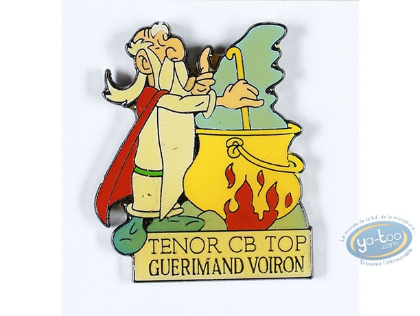 Pin's, Astérix : Panoramix 'Tenor CB Top Guerimand Voiron'
