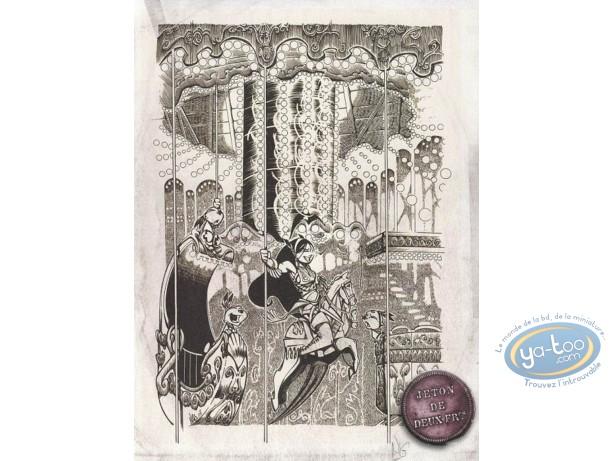 Ex-libris Offset, Luuna : Le caroussel