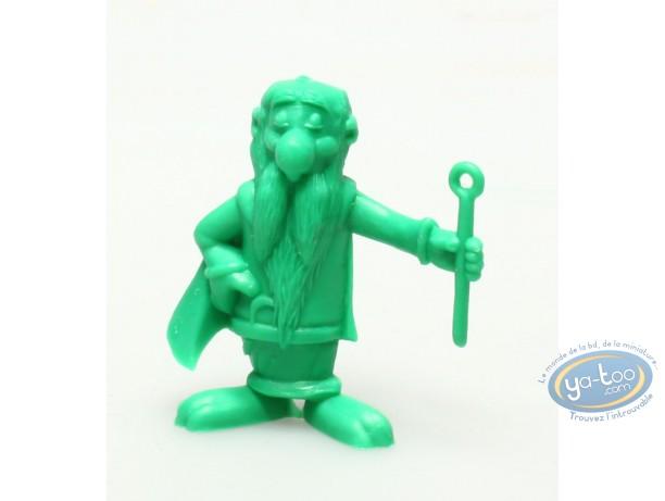 Figurine plastique, Astérix : Mini Panoramix (vert foncé)