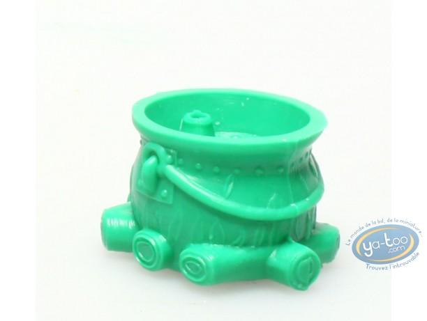 Figurine plastique, Astérix : Mini Chaudron de Panoramix (vert foncé)