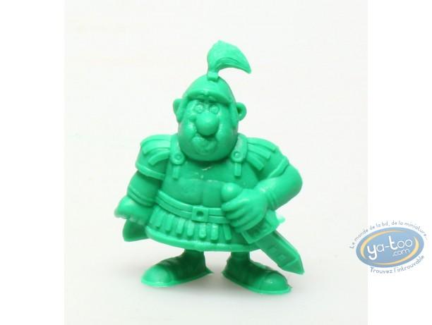 Figurine plastique, Astérix : Mini Centurion main sur le glaive (vert foncé)