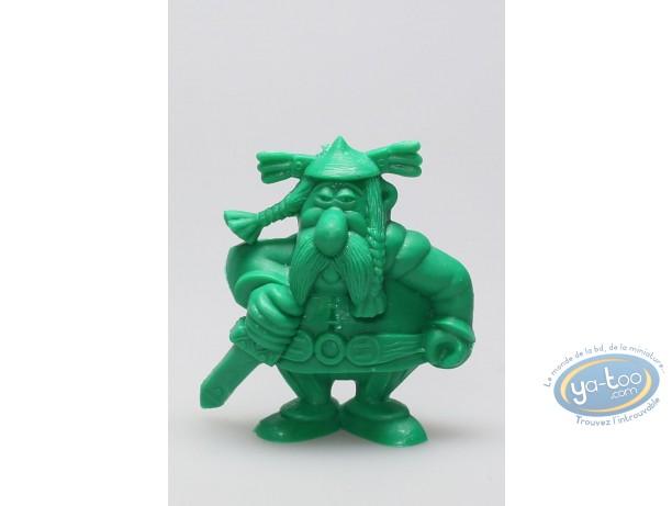 Figurine plastique, Astérix : Mini Abraracourcix (vert clair)