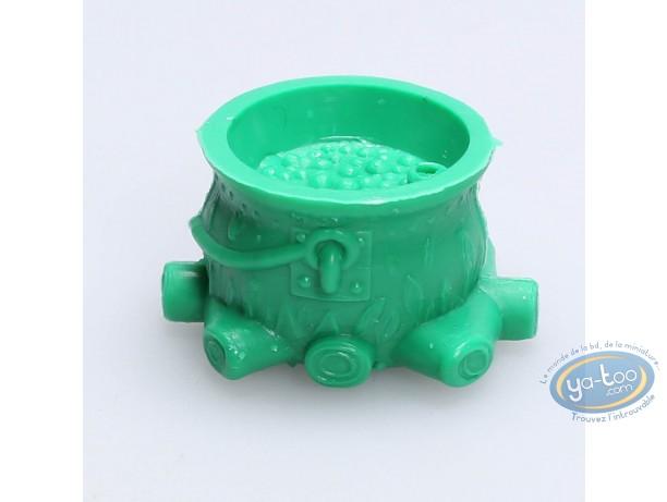 Figurine plastique, Astérix : Mini Chaudron de Panoramix (vert clair)