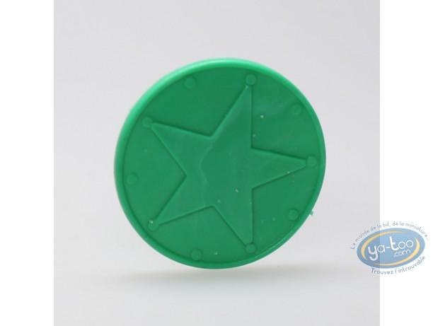 Figurine plastique, Astérix : Mini Pavois (vert clair)