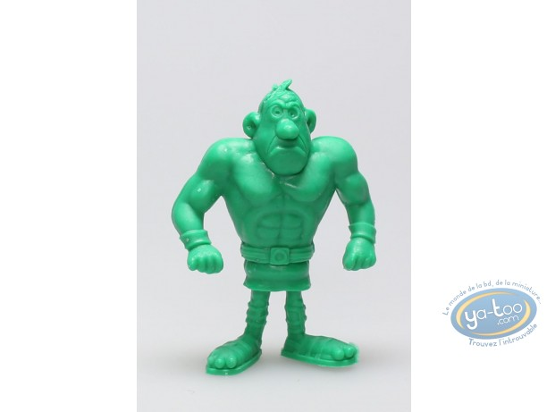 Figurine plastique, Astérix : Mini Cornedurus (vert clair)