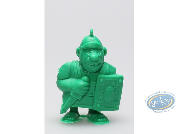 Figurine plastique, Astérix : Mini Légionnaire avec glaive (vert clair)