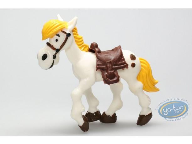 Figurine plastique, Lucky Luke : Jolly Jumper avancant