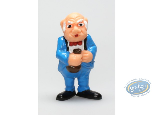 Figurine plastique, Lucky Luke : Directeur de banque
