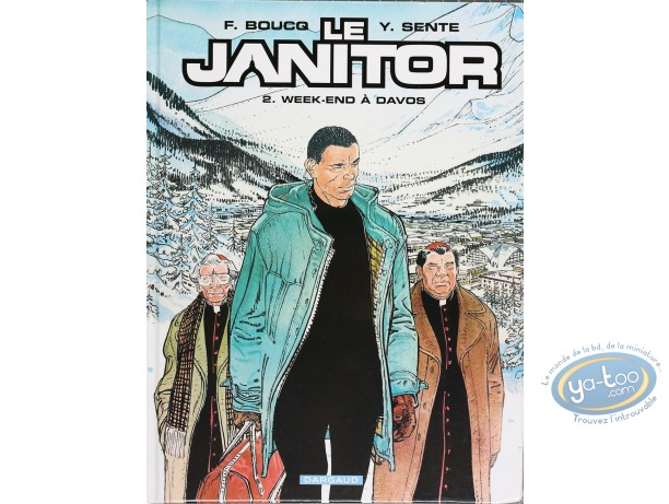 BD cotée, Janitor (Le) : Le Janitor, Week-end à Davos