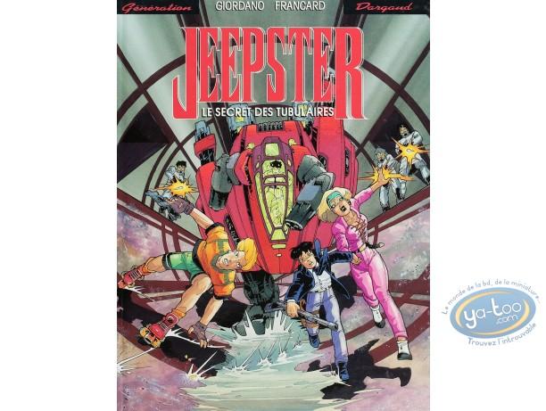 BD cotée, Jeepster : Jeepster, Le secret des tubulaires