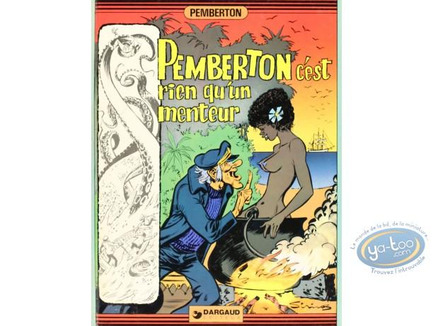 BD cotée, Pemberton : Pemberton c'est rien qu'un menteur