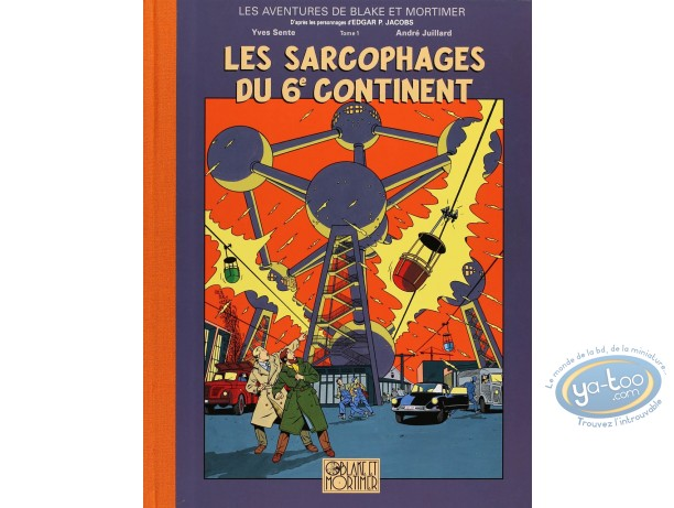 Album de Luxe, Blake et Mortimer : Les Sarcophages du 6ème Continent