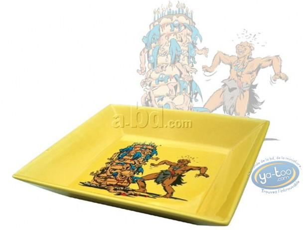 Art de la Table, Trolls de Troy : Vide poches Trolls assiette carrée