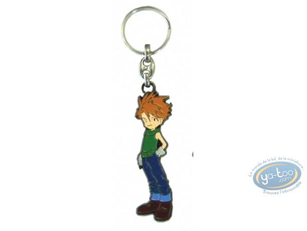 Porte-clé métal, Digimon : Matt