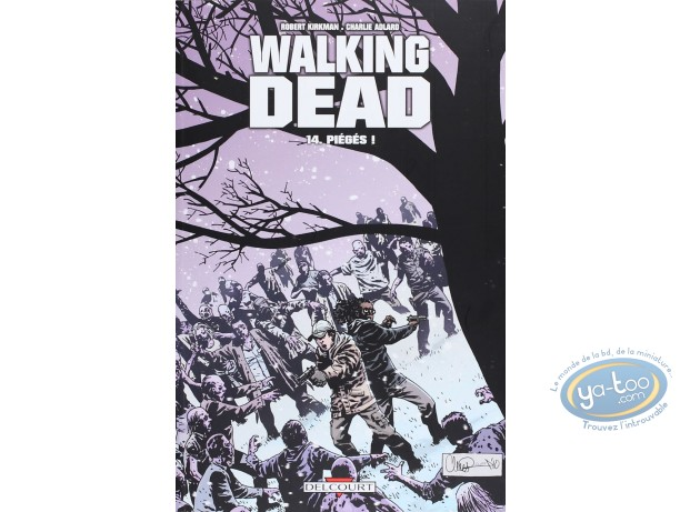 BD neuve, Walking Dead (the) : Piégés !