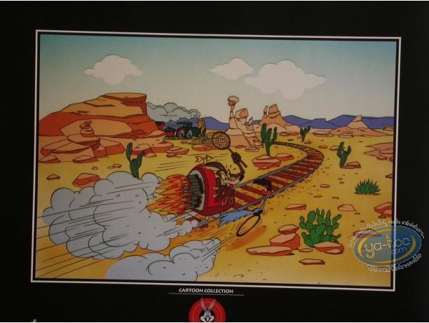 Affiche Offset, Vil Coyote : Le train