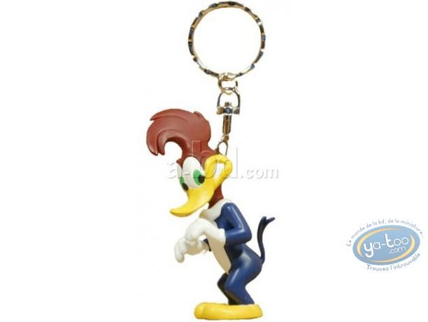Porte-clé PVC, Woody Woodpecker : Woody Woodpecker