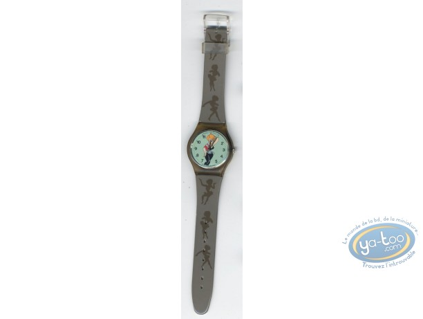 Horlogerie, Pin-Up (La) : Montre, Tex Avery Pin-Up bracelet plastique
