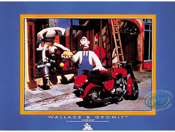 Affiche Offset, Wallace et Gromit : Side-car