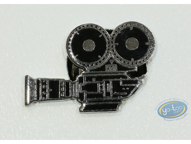 Pin's, Caméra à bobine (Petit modèle)