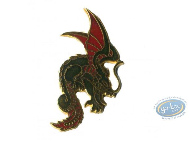 Pin's, Dragon (doré)