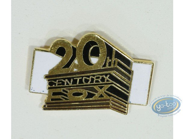 Pin's, Logo 20th Century Fox (Petit modèle)