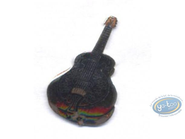Pin's, Guitare à résonateur (Petit modèle)