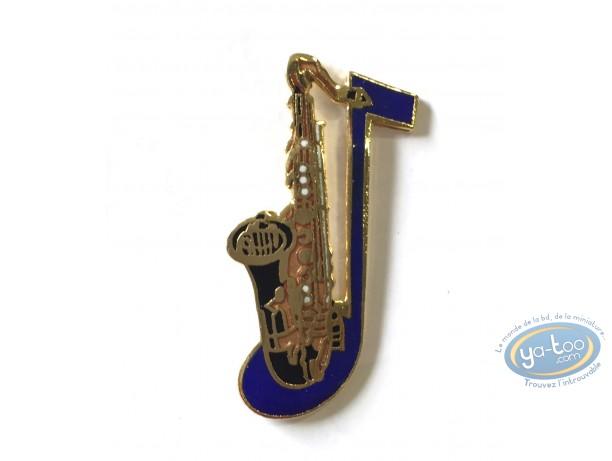 Pin's, Saxophone