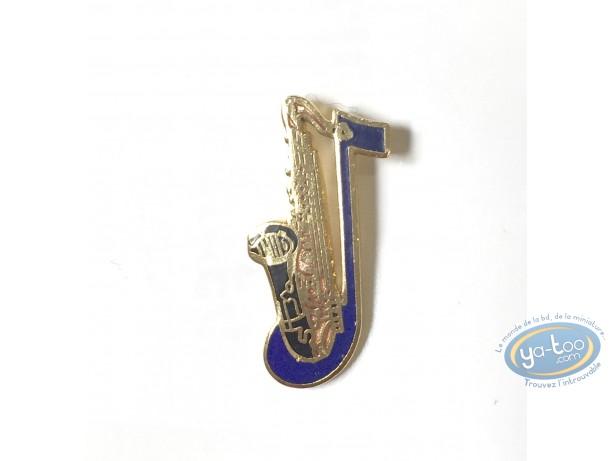 Pin's, Saxophone (Petit modèle)