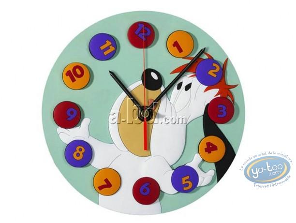 Horlogerie, Droopy : Horloge, Droopy jongleur