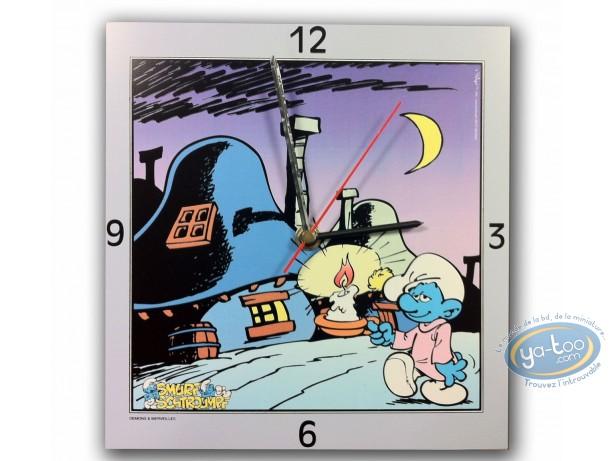 Horlogerie, Schtroumpfs (Les) : Horloge, Good night