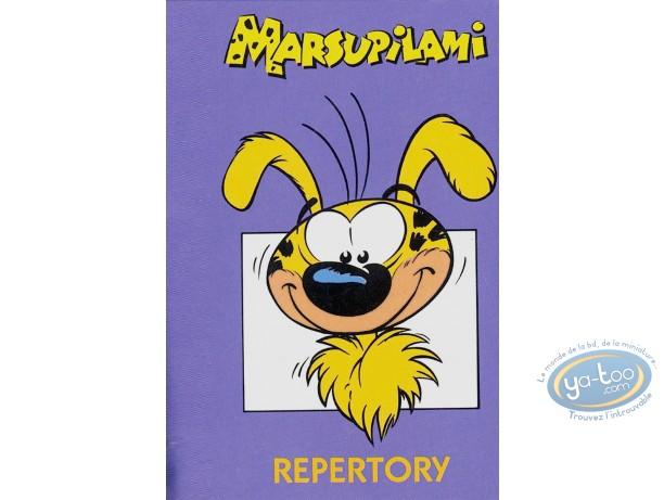 Carnet d'adresses, Marsupilami (Le) : Marsupilami : Mauve