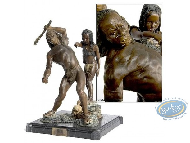 Statuette résine, King Kong : Skull Island Natives