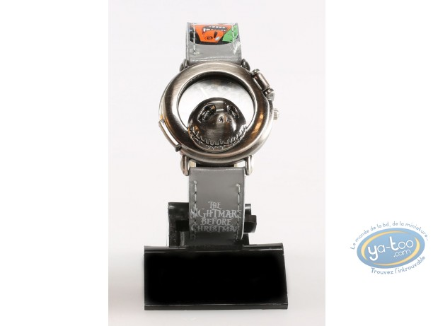 Horlogerie, Etrange Noël de Mr. Jack (L') : Montre, Personnage - Bracelet cuir gris