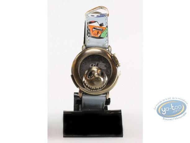 Horlogerie, Etrange Noël de Mr. Jack (L') : Montre, Personnage - Bracelet cuir bleu