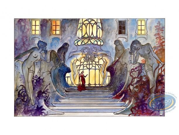 Affiche Offset, Pin-Up : Le palais des désirs, Manara
