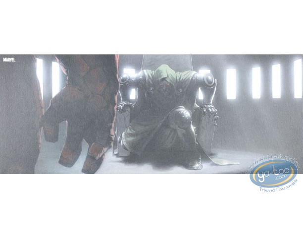 Affiche Offset, 4 Fantastiques (Les) : Doom assis