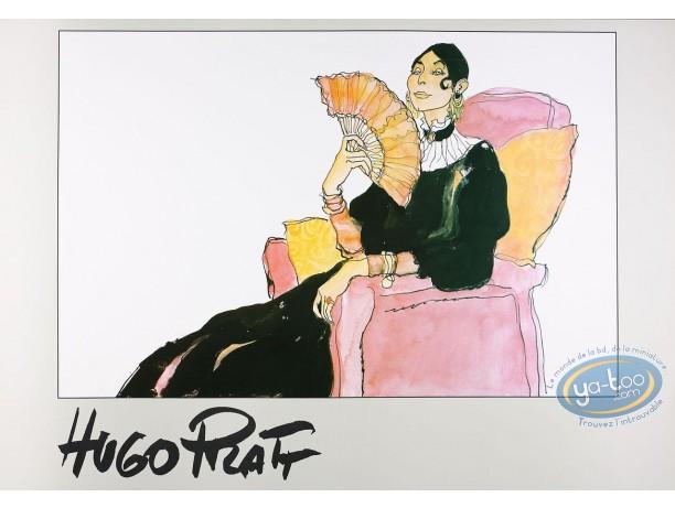 Affiche Offset, Corto Maltese : La Mère de Corto