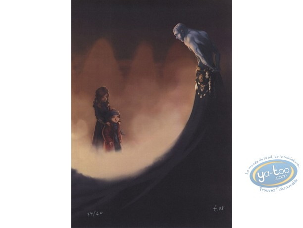 Affiche Offset, Manoir des Murmures (Le) : Le manoir des murmures