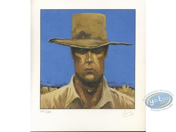 Ex-libris Offset, Colt Walker : Portrait